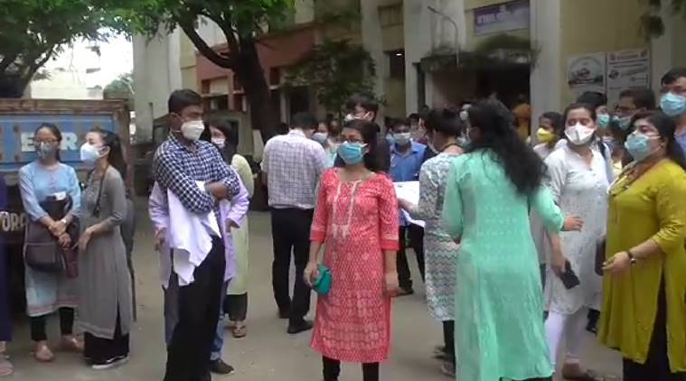 Interns protest on Doctors' Day in Tripura