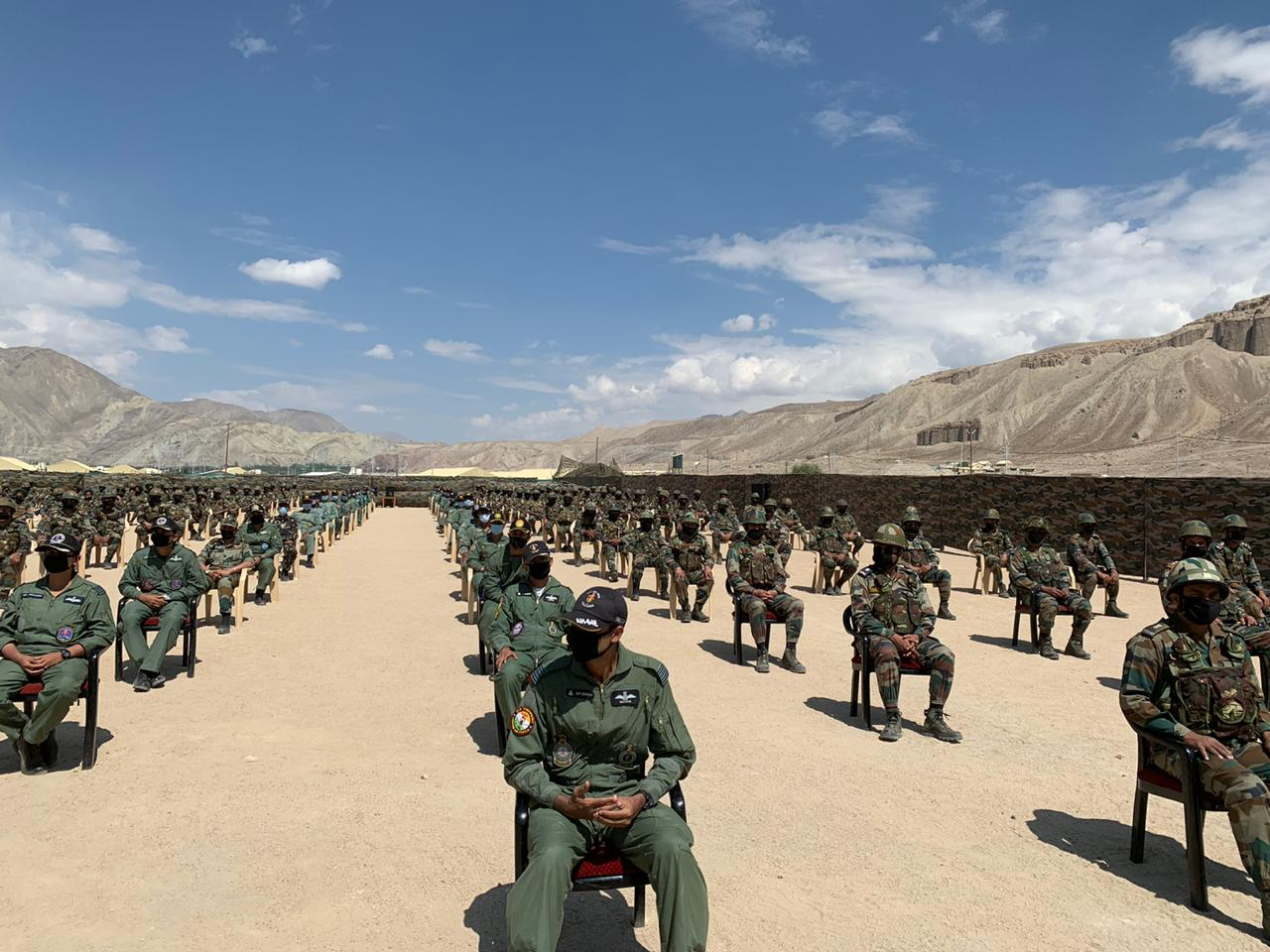 PM Modi visits Nimoo in Ladakh