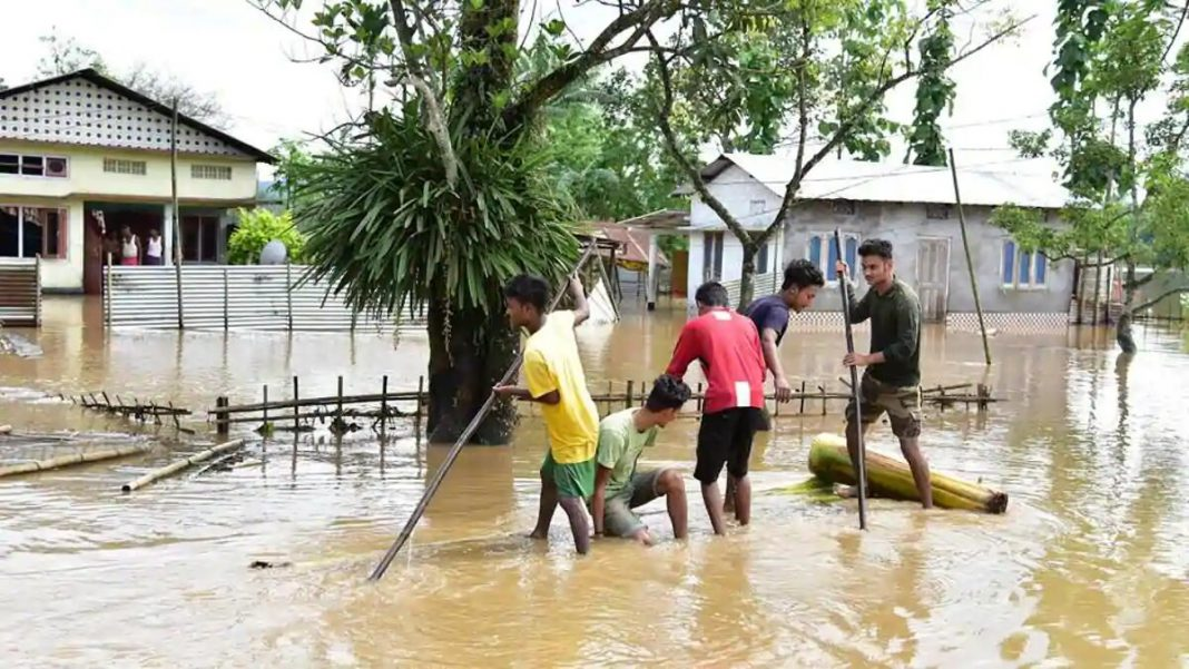 Drastic improvement in the flood situation in Assam