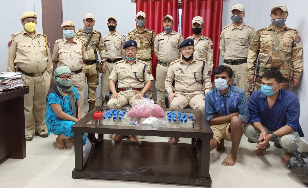 Assam Rifles seized Myanmarese Areca Nuts in Nagaland