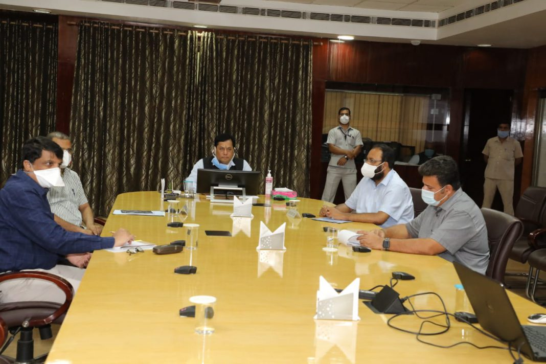Assam: Sonowal asks MPs and MLAs to rush to flood affected areas