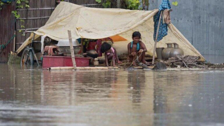 third wave of flood hit assam
