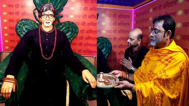 Watch: The only temple in the world of Superstar #AmitabhBachchan