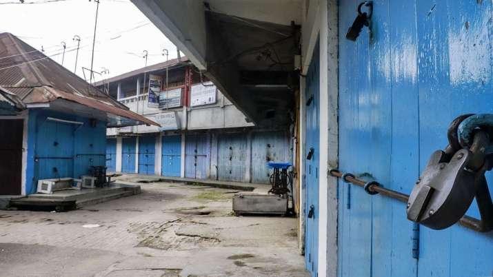 lockdown in Nagaland