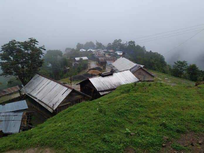 Nagaland village