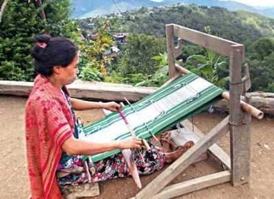 Manipur woman takes weaving to another level