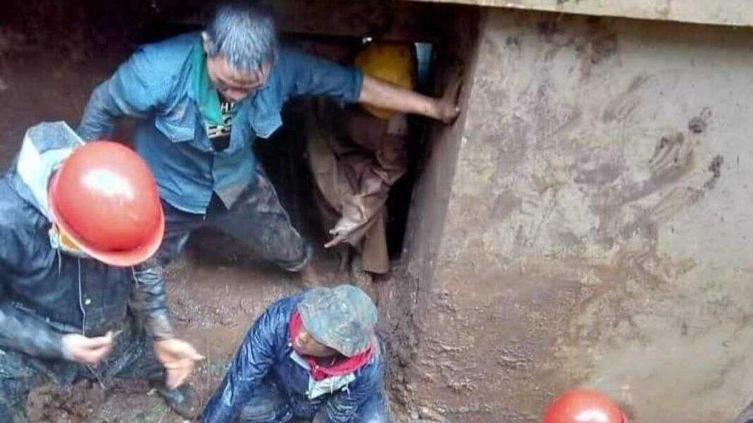 landslide in Shillong