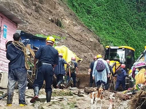 Flash flood, landslide in Meghalaya