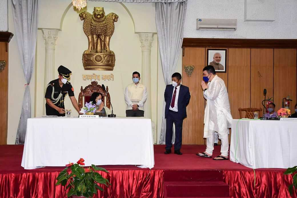 Major reshuffle in Manipur cabinet: 6ministers dropped, 5 inducted