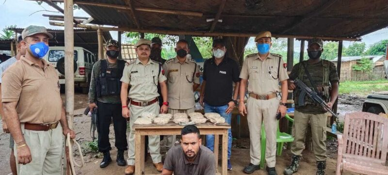 Police had seized a large quantity of heroin worth over Rs 25 crore in Assam's Karbi Anglong district. Police had also arrested the driver of a truck where the illegal drug was recovered.