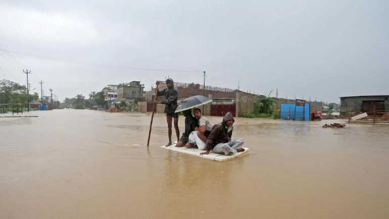 Assam flood: Nearly 3.20 lakh people of 13 district effect