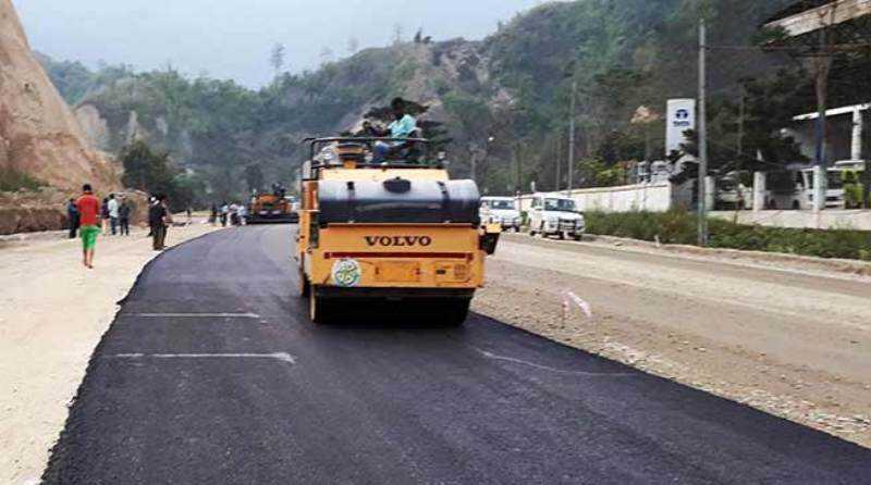 Four-lane highway in Arunachal Pradesh