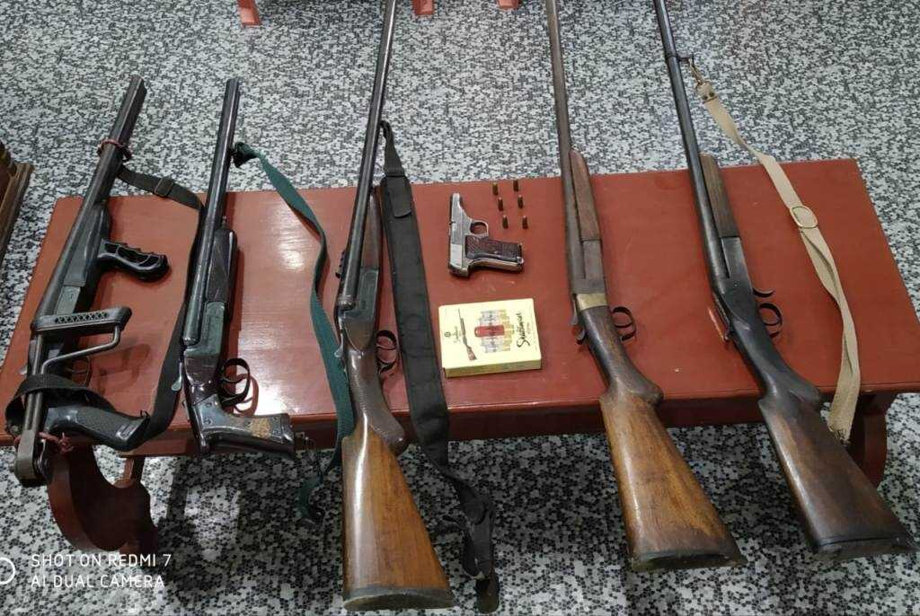 Manipur police seized arms ahead of bye-polls