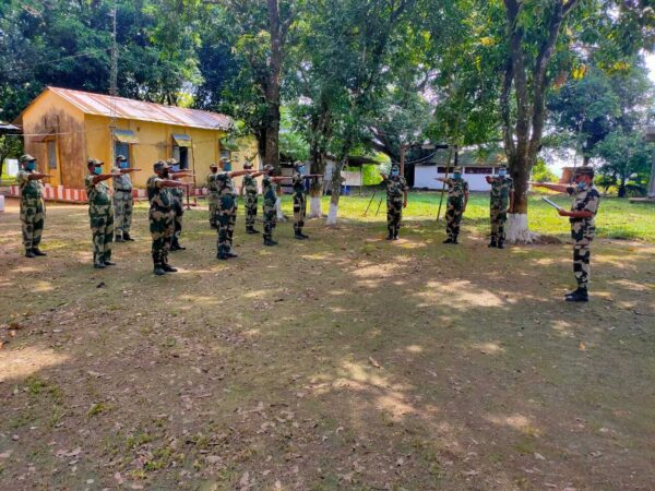 "Following the Prime Minister Narendra Modi recent call for ""Jan Andolan for COVID-19"", BSF has kick-started this campaign all over Meghalaya."