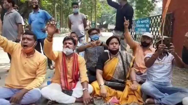 Assam Hindu activists demand to stop feeding of beef to zoo animals