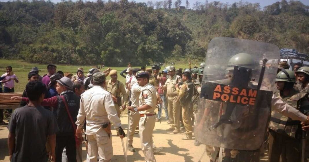 Ravaging of Mizoram duty post leads to Assam Mizoram border tensions