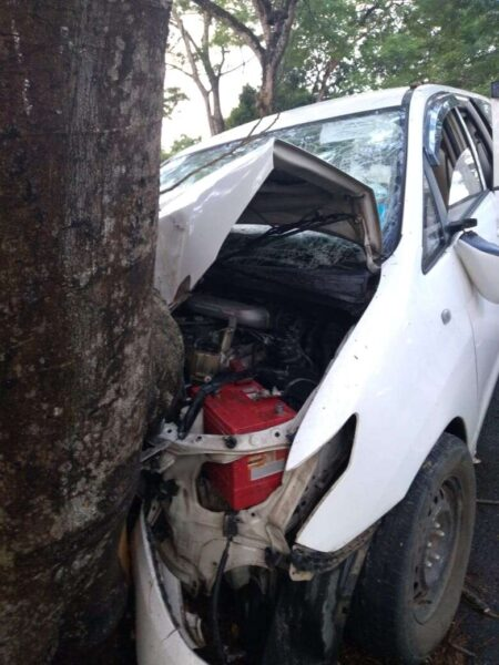 car accident in North Lakhimpur