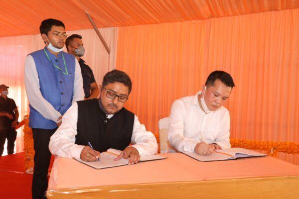 Nitin Gadkari lays foundation stone of Multi-Model Logistics Park in Assam