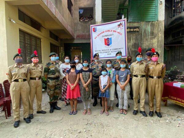 NCC steps forward to help orphanage in Guwahati