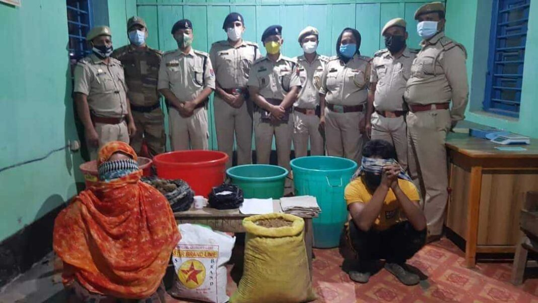 Manipur: Illegal drugs worth Rs 165 crore recovered, three persons arrested