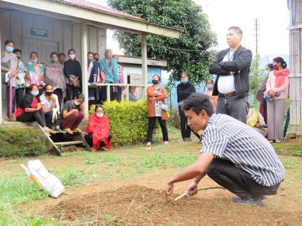 Farmers training held in Nagaland's Noklak
