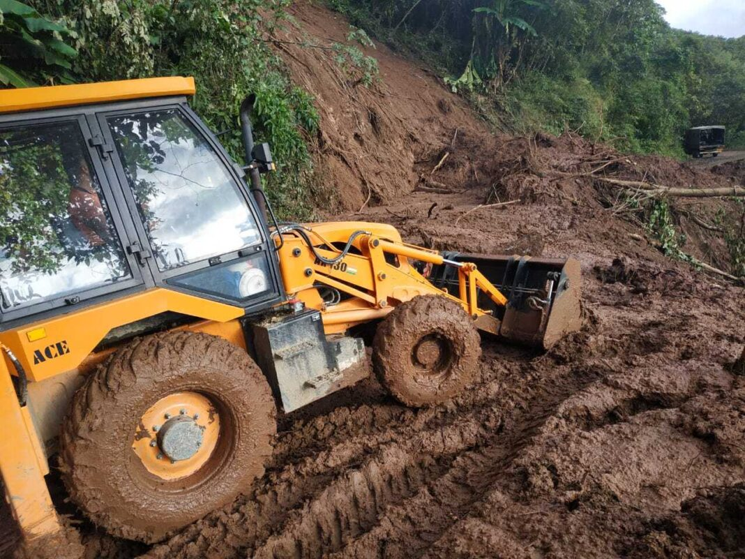 Assam Rifles restores roads in bordering areas of Nagaland