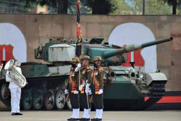 Assam Regimental Center conducts Attestation Parade for young recruits.