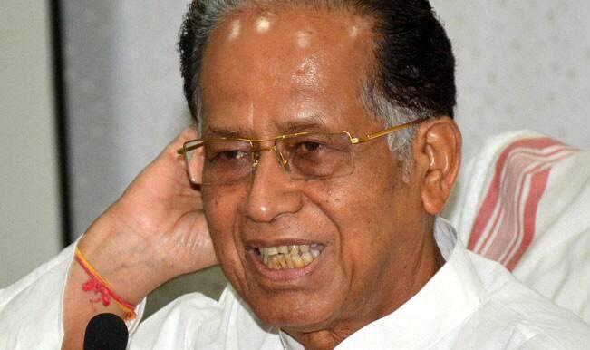 assam CM Tarun Gogoi