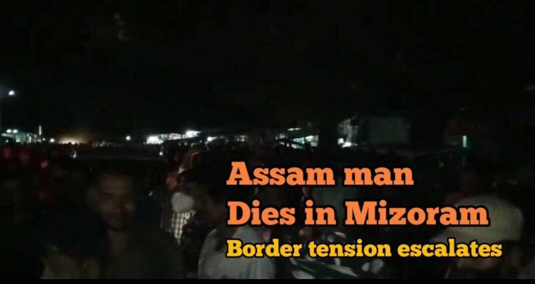 Assam man dies in Mizoram; tension escalates amid border dispute
