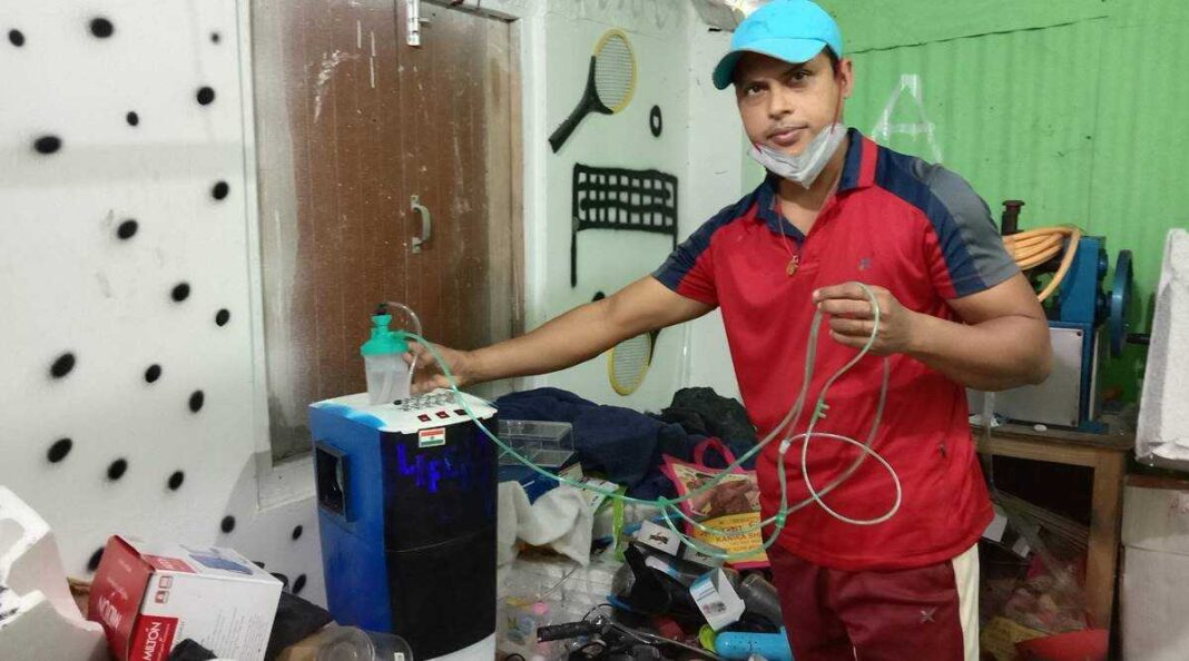Tripura Goldsmith builds low-cost oxygen concentrator for COVID patients