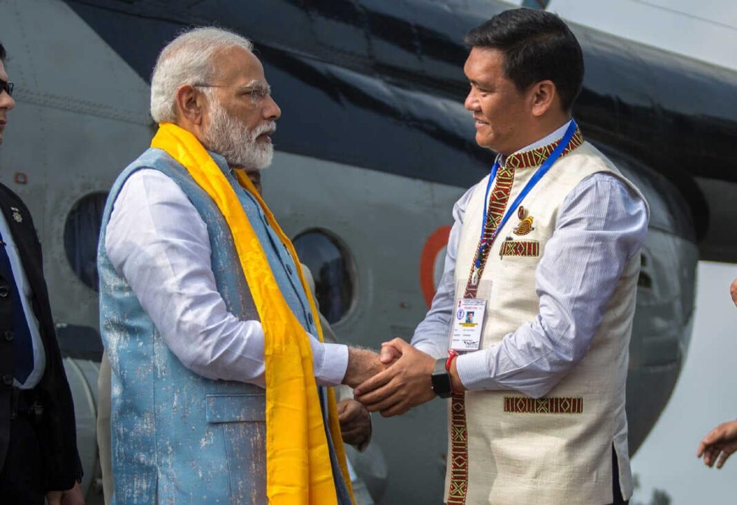 Arunachal CM Pema Khandu will meet PM Modi to discuss Article 371 (H)
