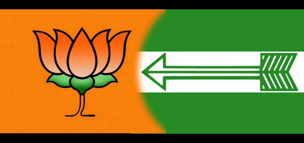 Arunachal Pradesh: 6 JD (U) MLAs join BJP before the poll results