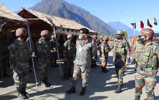 CDS General Bipin Rawat visits forward bases in Arunachal