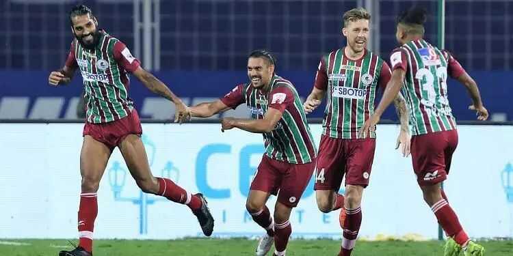 ISL: ATK Mohun Bagan defeat NorthEast United FC 2-0