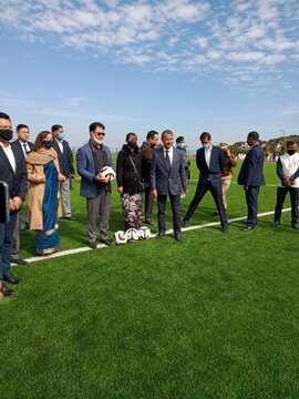 Meghalaya: Kiren Rijiju inaugurates synthetic football ground in Shillong