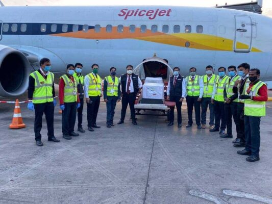 India: First flight ferrying Covid19 vaccines departs from Pune