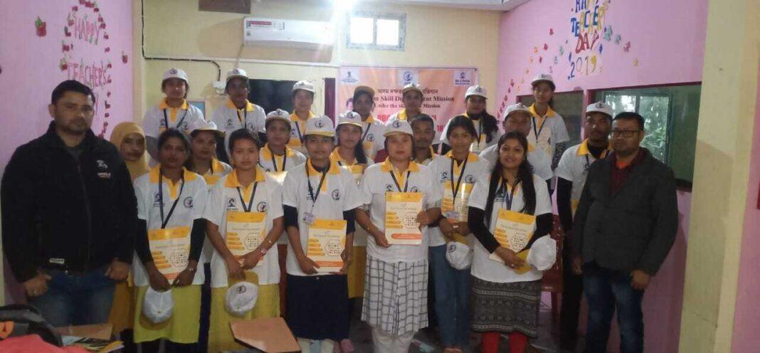 Books distribution at ASDM Training Center