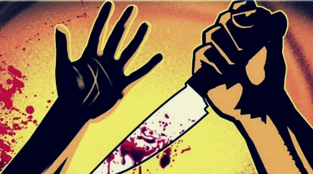 Tripura Man kills wife, mother-in-law chops their body in front of kid