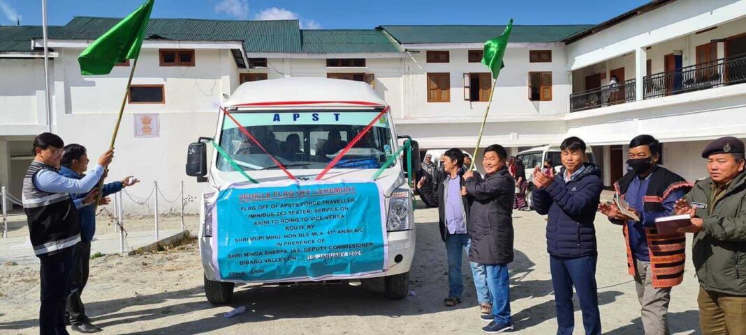 Arunachal Pradesh: First government bus arrived Anini since independence