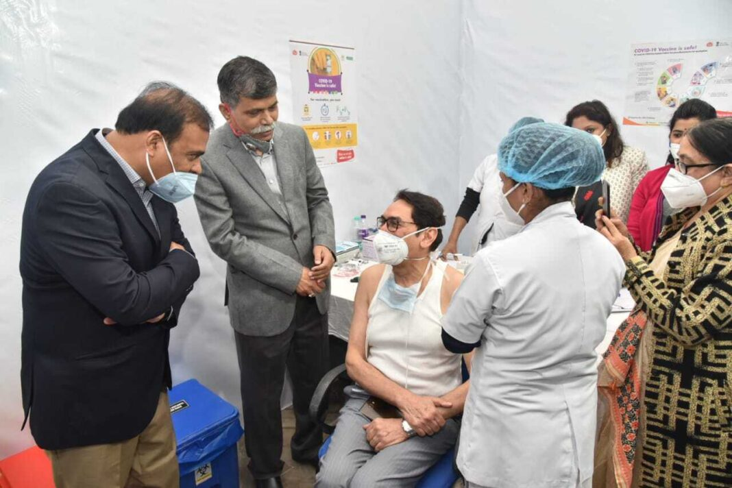 Fisrst phase of COVID19 vaccination drive starts in Guwahati
