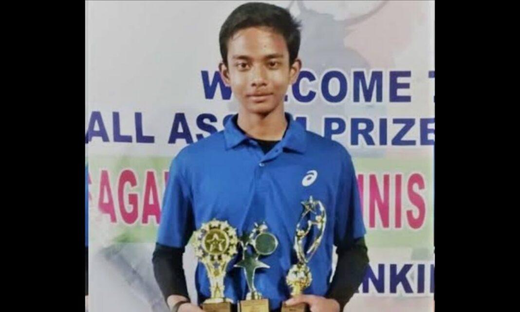 Ved Aditya wins double crowns in Sivasagar Open All Assam Prize Money Tennis Tournament