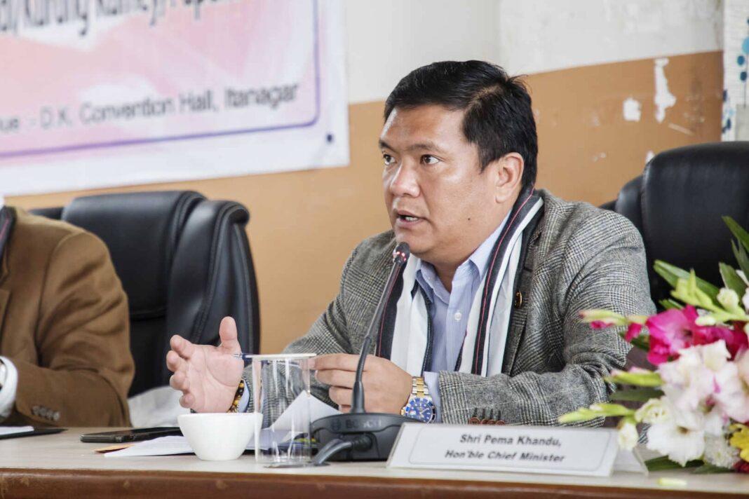 CM Pema Khandu chairs pre-budget consultative meeting