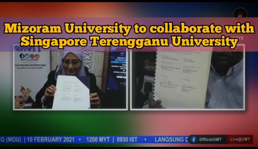 Mizoram University to collaborate with University Malaysia Terengganu in academics
