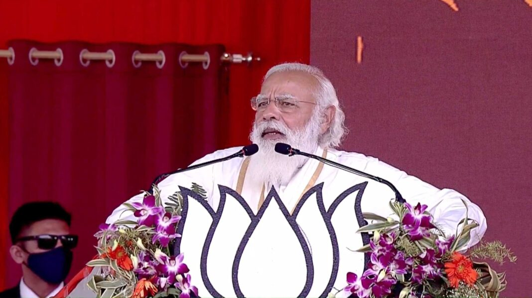 West Bengal has made up its mind for poriborton: PM Modi at Hooghly rally